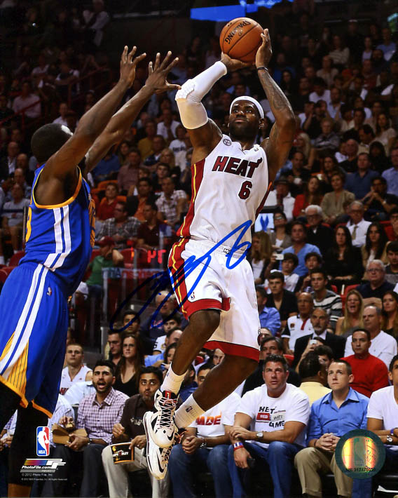 lebron james autograph - photo #24
